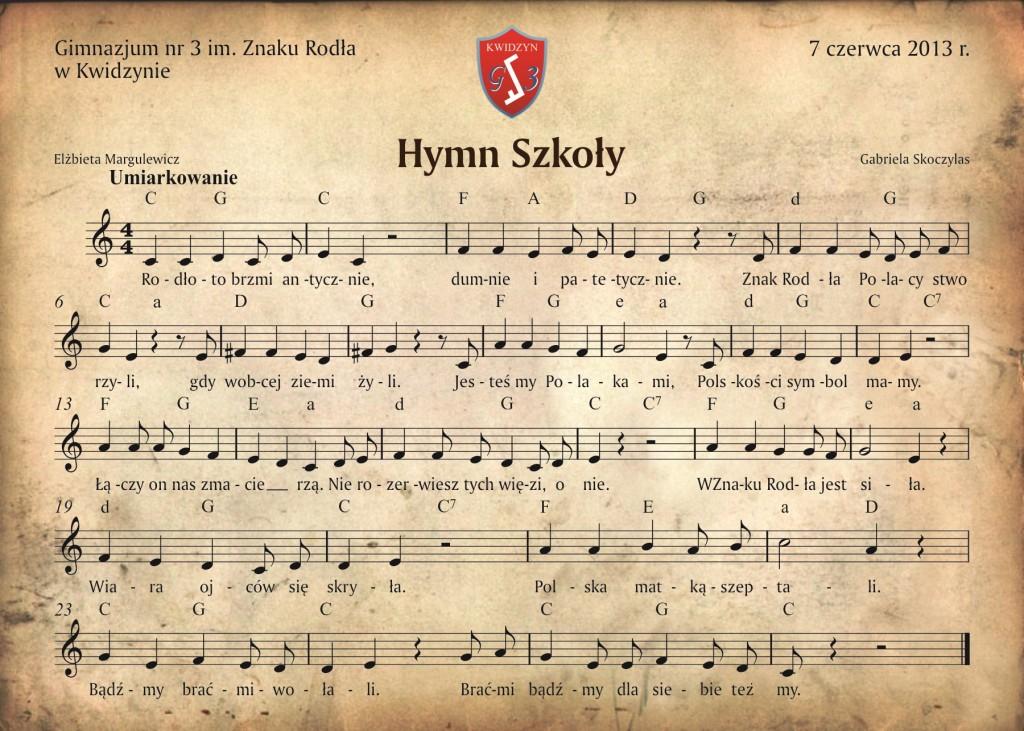 plakat hymn
